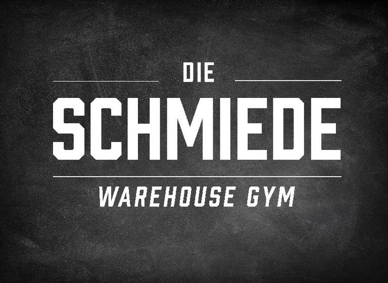 Logo: DIE SCHMIEDE - WAREHOUSE GYM